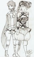 Hamilton and LorenceTerra by Kitratre