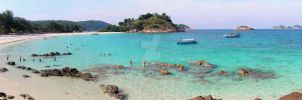 Laguna Redang Island Panorama by Golf-Punk