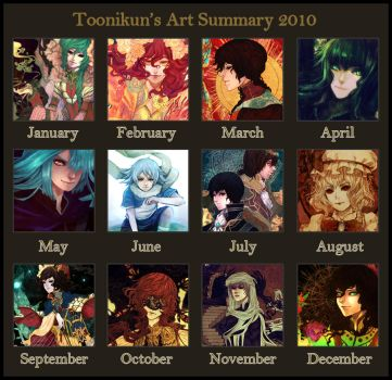 2010 Art Summary by Toonikun