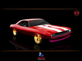 Dodge Challenger by amitverma
