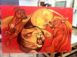 Beasts of Burden 1 WIP by Hyourin
