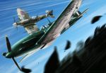 Speed battle dogfight by Jacopo-Art