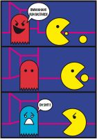 Pac Man by Tippy-The-Bunny