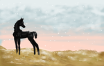 Early Fall Snow by SagaNight