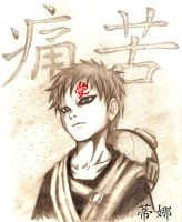 Gaara Pain by MsAnnThrope