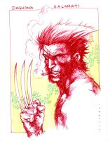 wolvie by harveytsketchbook
