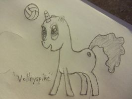 Volleyspike (Reconcepted) (No color) by DrTau