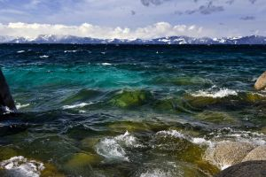 Windy Tahoe Morning by sellsworth