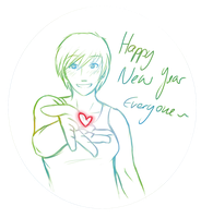 Happy new Year everyone! by Kristl-Air