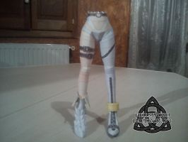 Digimon Angewomon Papercraft Legs by HellswordPapercraft