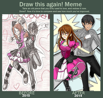 Draw This Again Meme - Blood Lust by xo-Valentyne-ox