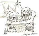 LftB - Adeline and Mary-Jane Chibis by LalaLiliLalaLii