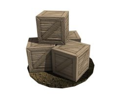 Next-Gen game graphics, Crates by Zakiz