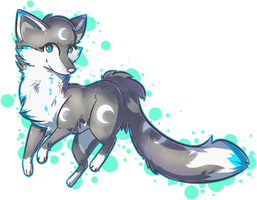 Art Trade: The Fox by Malisu