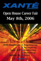 Poster Career Open House by xloganx