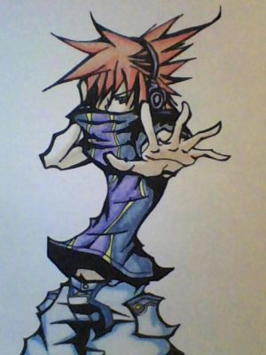 Neku by ansem-the-dead