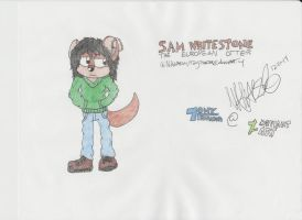 :NEW CHARACTER: Sam the European Otter by Tonythunder