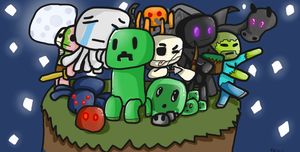 Minecraft Mobs by DenisSouza