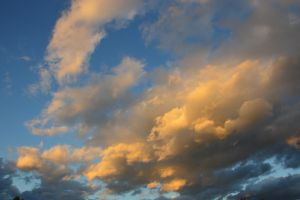 Fall sky and clouds by A1Z2E3R