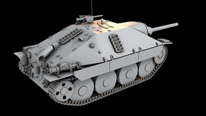 Hetzer - model demo by Enterprise-E