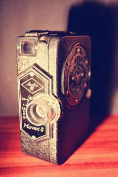 agfa movex 8 by MaithaNeyadi
