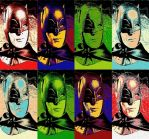 Batman 1966 eight panel pop art by TheGreatDevin