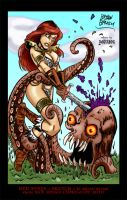 Red Sonja by Bryan Baugh by THE-Darcsyde