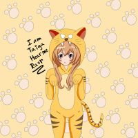 Taiga Aisaka In A Tiger Suit by xX-KiyomiHime-Xx