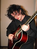 robert smith cosplay 1 by roydraven777