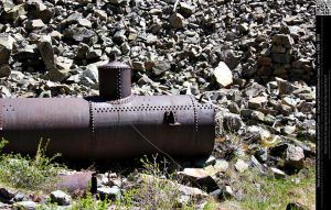 Rusted Steampunk Train Part by DamselStock