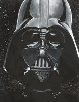 Darth Vader by PolkaDotCaterpillar