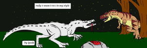 ms paint + mouse..dinos by ipodsmakemyheadhurt