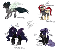 .:MLP OCs Designs:. by ALittleRiddle