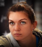 Simona Halep by Newpball