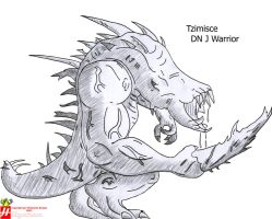 Demonio necrofalo DN J Warrior by Kayrom
