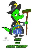 Sam the Black Wizard by Cartoon-Eric