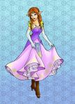 Disney Princess Zelda by hopelessromantic721