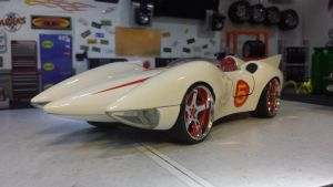 repost MACH 5 SPEED RACER  by themodelist
