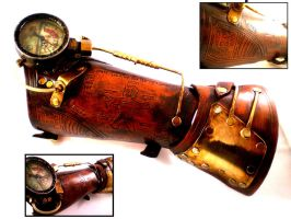 Steampunk Fallout Bracer by Skinz-N-Hydez