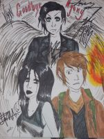 bvb signed drawing by Kona-chan19