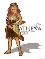 Athena - Goddess of Wisdom by bucs3191