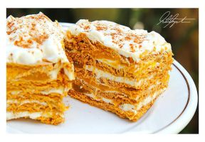 No Bake Graham Mango Tiramisu by VintageWarmth