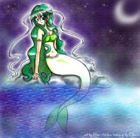 Collab - Mermaid Lettuce by ellana