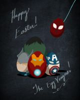 The Egg-Vengers! by GeekingOutArt