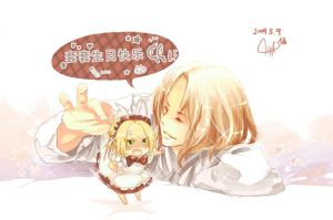 .APH. Present:3 by fredericayang