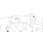 TLK Coloring Page: Lineart by CookieCannibleSofiel
