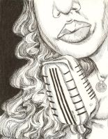 Jazz Singer - Colourless by Colour-Me-Deranged