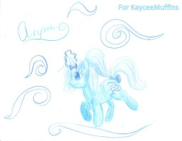 Airyana the Universe Pony by MizalAlexiee