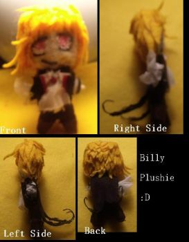 Billy Plushie by nls1994
