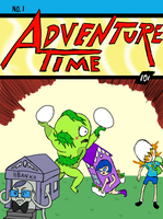 Adventure Time Comics 1 by fallenjrblue